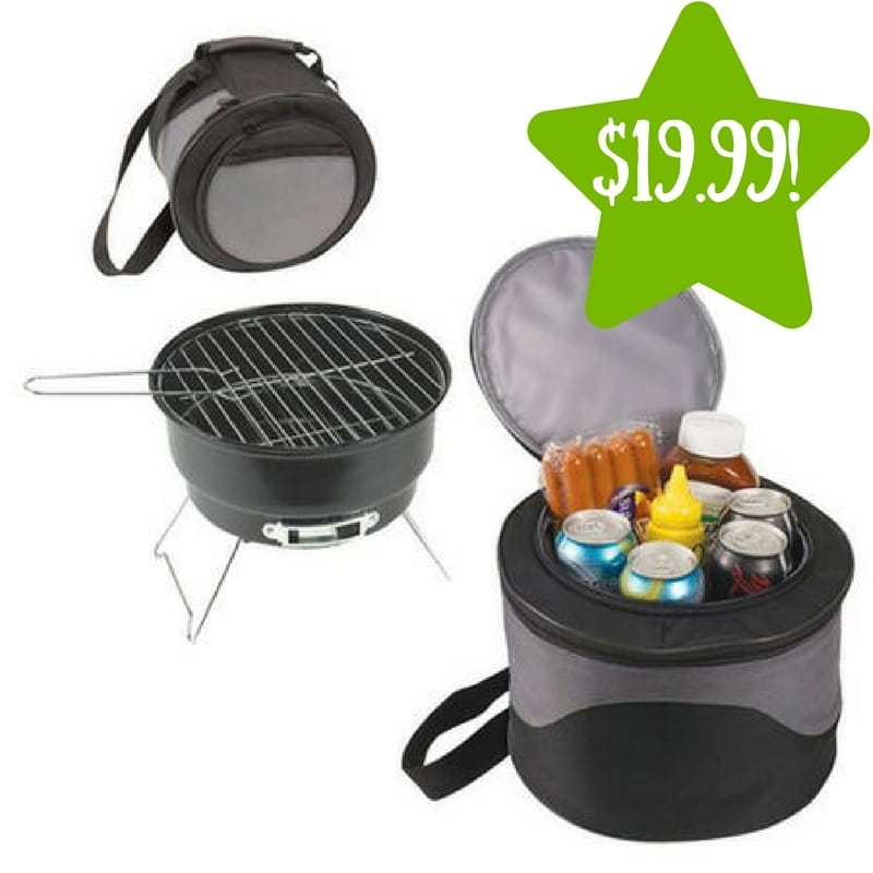 Sears: KooLuLu Picnic Time Cooler Tote with 10″ Charcoal BBQ Only $19.99 (Reg. $82, Today Only)
