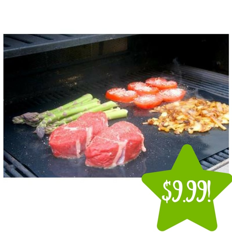 Sears: Barbeque Grill Sheet (2 Pack) Only $9.99 (Reg. $40)