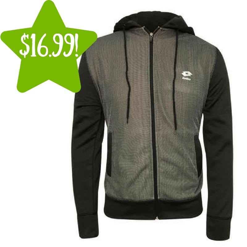Sears: Lotto Men's Performance Active Front Zipper Closure Only $16.99 (Reg. $50, Today Only)