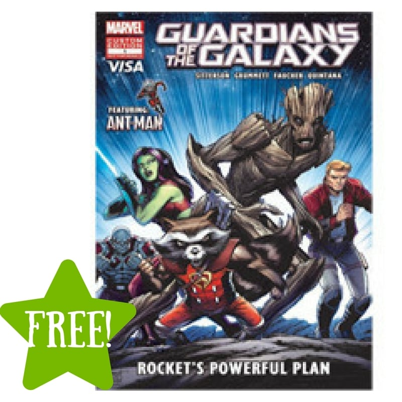 FREE Marvel's Guardians of the Galaxy: Rocket's Powerful Plan