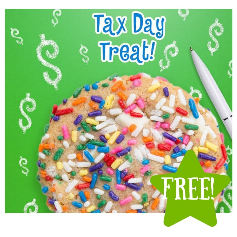 FREE Regular Birthday Cake Cookie (April 18th Only)