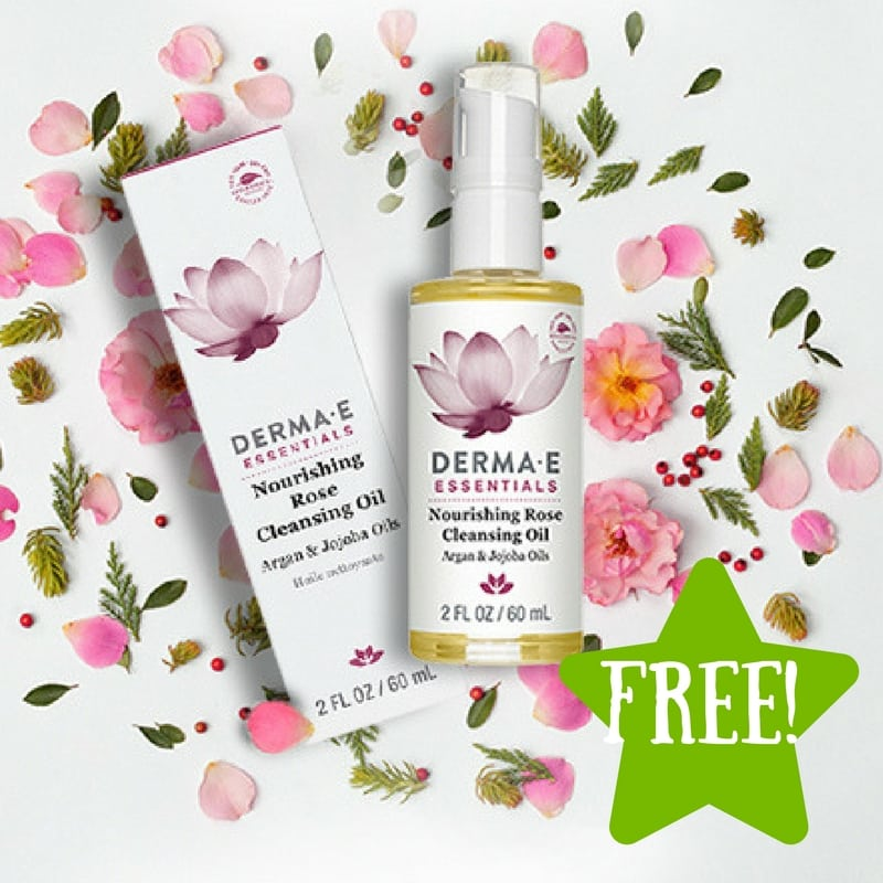 FREE Nourishing Rose Cleansing Oil Sample