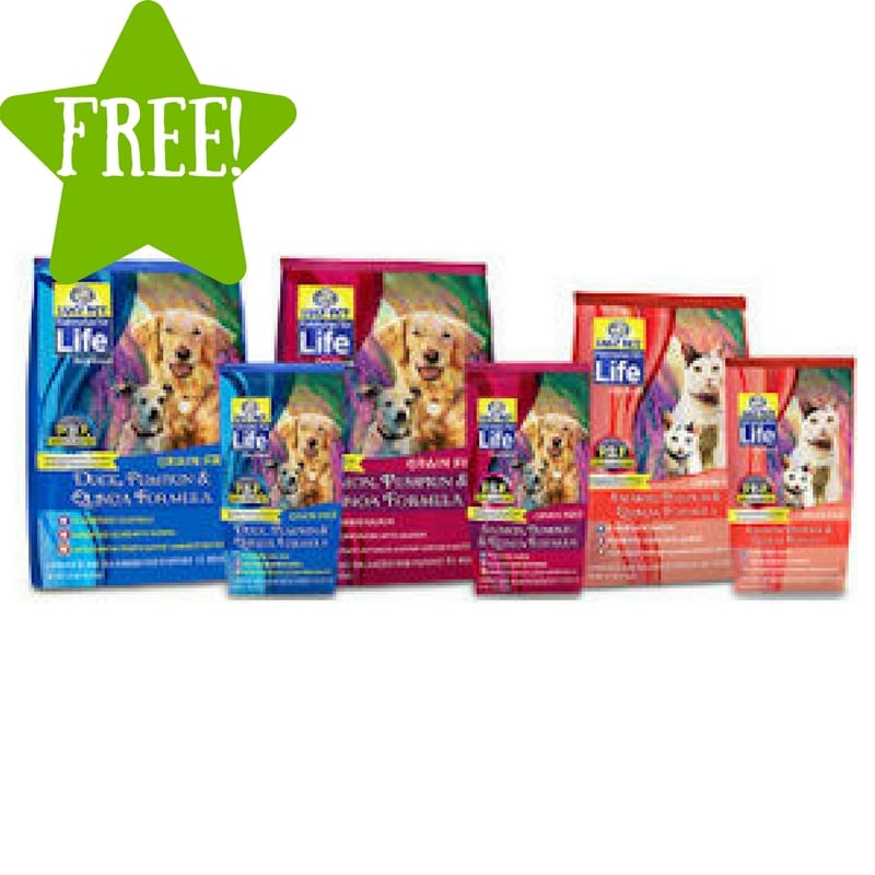 FREE Sample of Formulas for Life Pet Food