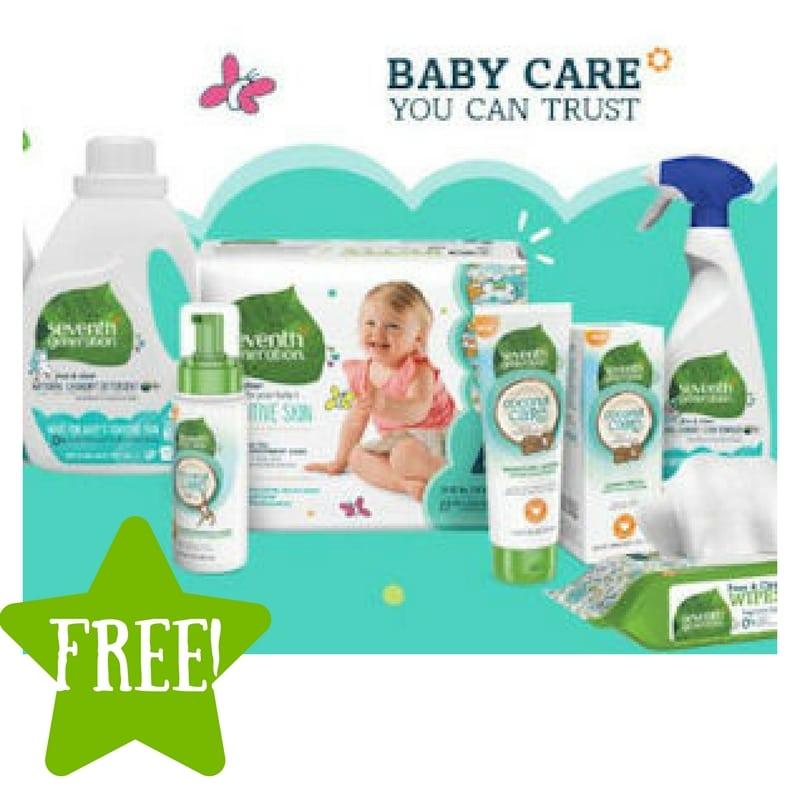 FREE Seventh Generation New Baby Kit