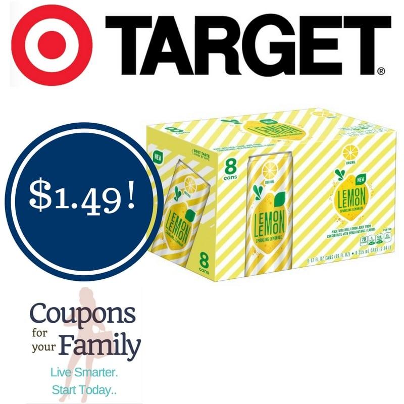 Target: Lemon Lemon Lemonade Only $1.49