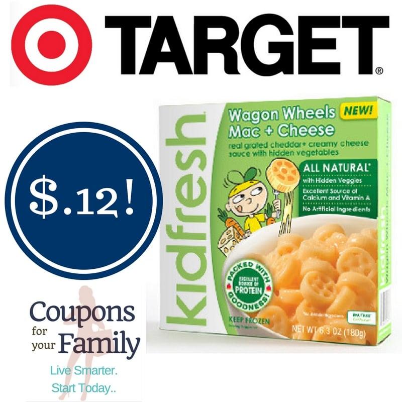 Target: Kidfresh Frozen Meals Only $0.12