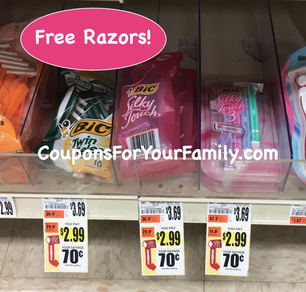 free razors
