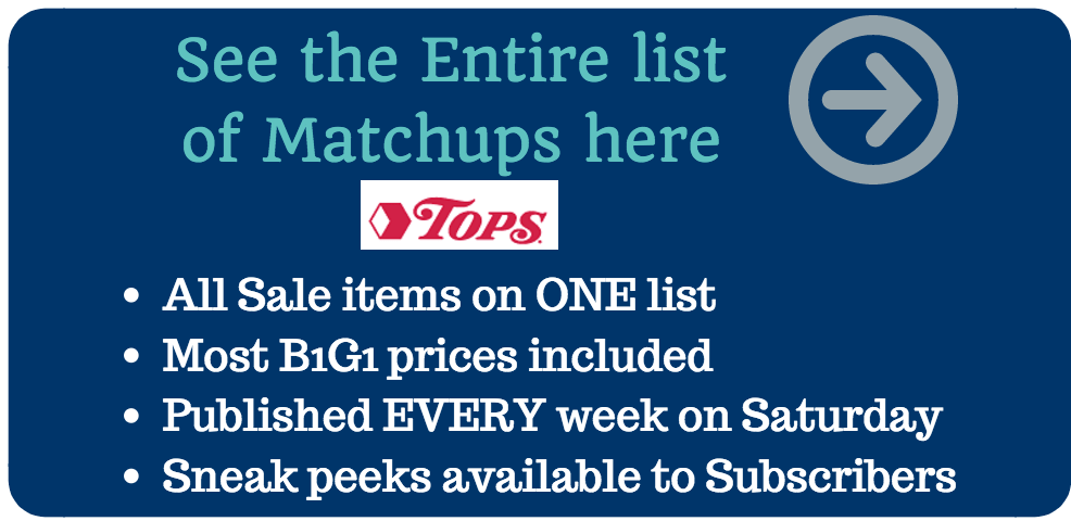 Tops Coupon Matchups