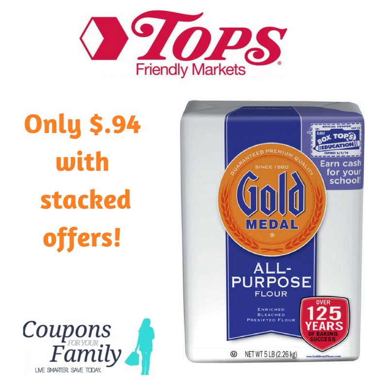 *RARE* Gold Medal Flour coupon makes only $.94 starting Sunday 4/2!!!