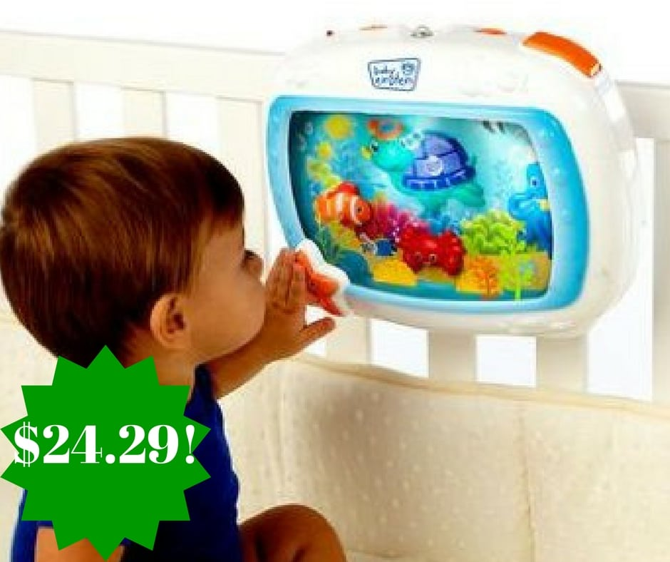 Amazon: Baby Einstein Sea Dreams Soother Only $24.29 (Reg. $48)
