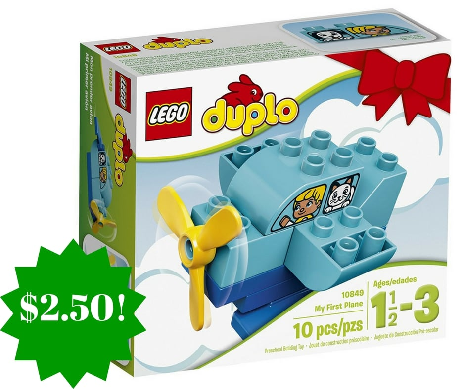 Amazon: LEGO DUPLO My First Plane Building Kit Only $2.50 (Reg. $4)