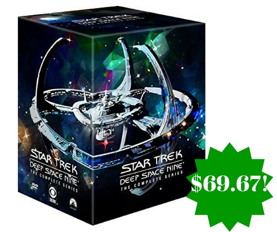 Amazon: Star Trek: Deep Space Nine: The Complete Series DVD Only $69.67 Shipped (Reg. $145)