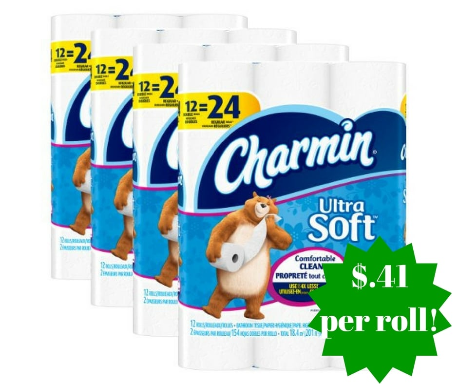 Wegmans Charmin Toilet Paper: Amazon: Charmin Ultra Soft Toilet Paper Only $0.41 Per Roll