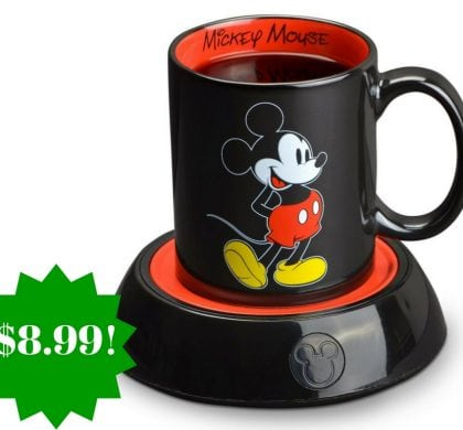 Amazon: Disney Mickey Mouse Mug Warmer Only $8.99 (Reg. $33)