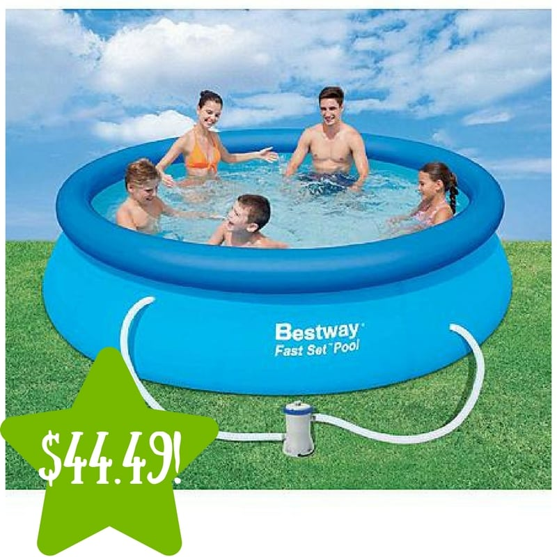 Kmart: Bestway 10′ x 30″ Inflatable Fast Set Pool Kit Only $44.49 After Points (Reg. $100)