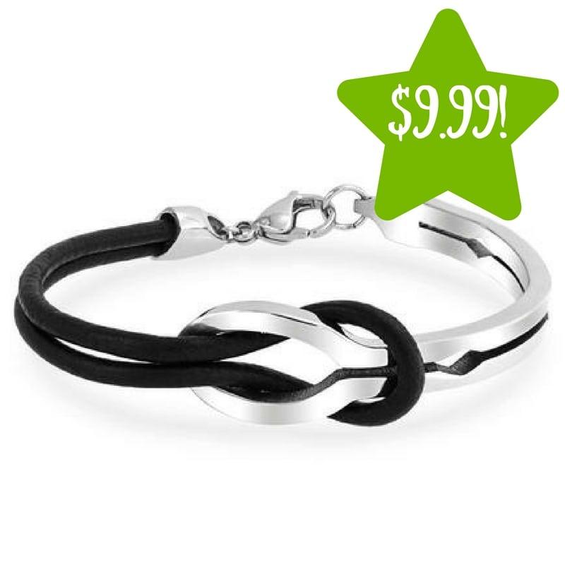 Sears: Infinity Stainless Steel Bangle Bracelet Only $9.99 (Reg. $32)