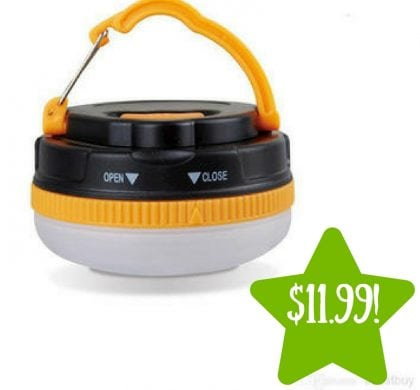 Sears: Portable Mini Camping Hanging Lantern Only $11.00 (Reg. $40)