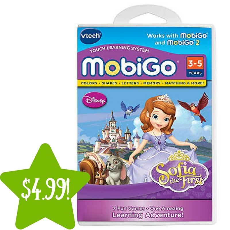 Kmart: VTech MobiGo® Software – Disney Sofia the First Only $4.99 (Reg. $15)