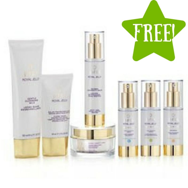 FREE JAFRA's Royal Jelly Skincare Line with Crowdtap