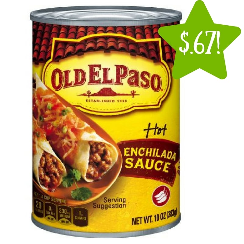 Dollar Tree: Old El Paso Enchilada Sauce Only $0.67