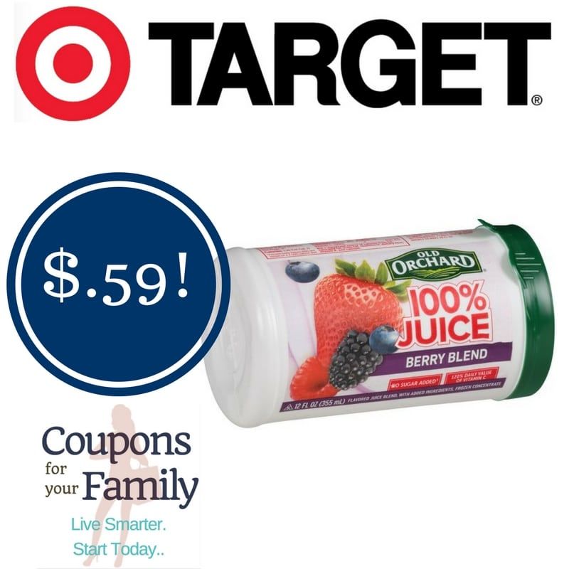 Target: Old Orchard Frozen Juice Concentrate Only $0.59