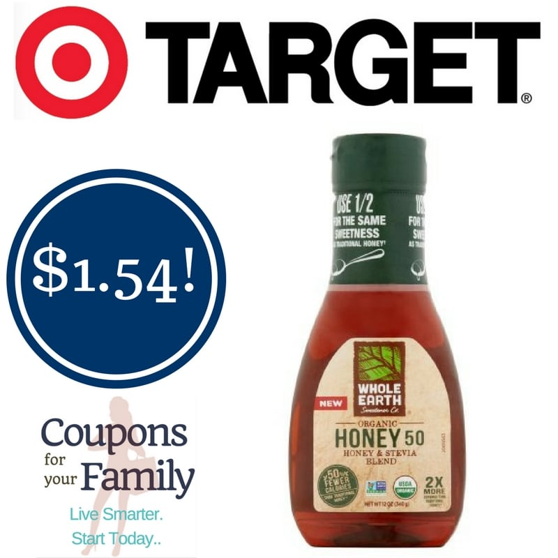 Target: Whole Earth Organic Honey Only $1.54
