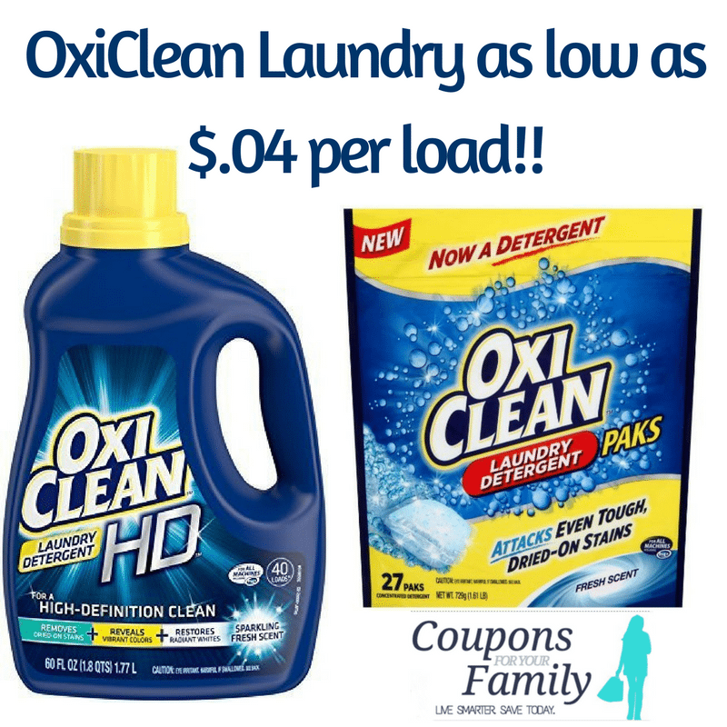 OxiClean coupon deal