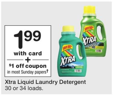 Walgreens Extra Laundry