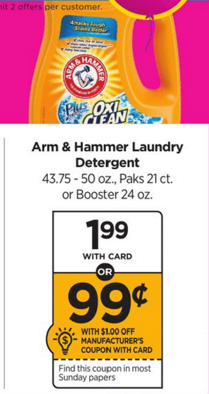 Rite Aid Arm & HAmmer Laundry