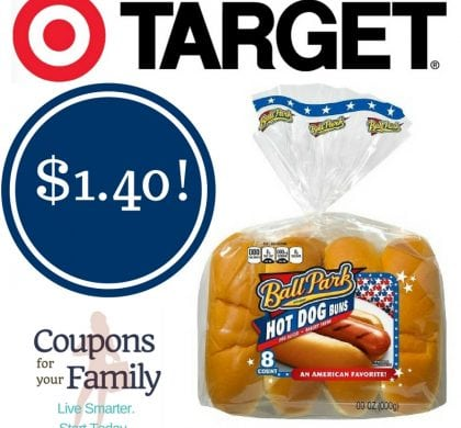 Target: Ball Park Hot Dog Buns Only $1.40