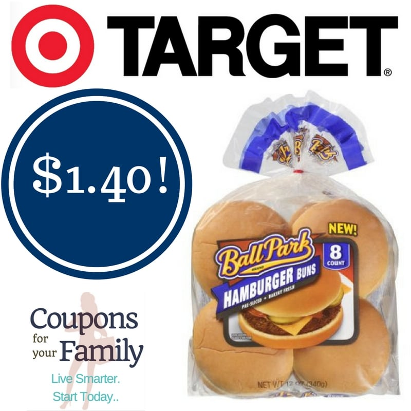 Target: Ball Park Hamburger Buns Only $1.40