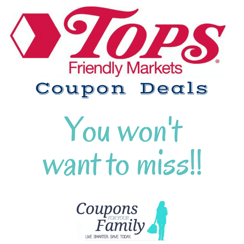 Tops Markets Coupon Deals you won't want to miss this week!!