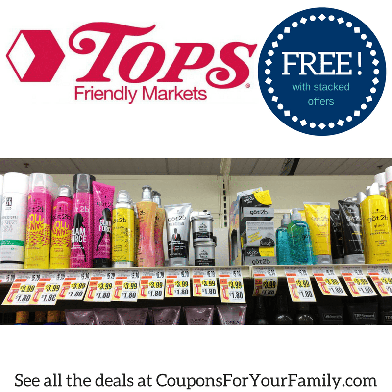 **HOT** Tops Coupon Deal FREE Got2B Stylers – hurry and print coupon!!