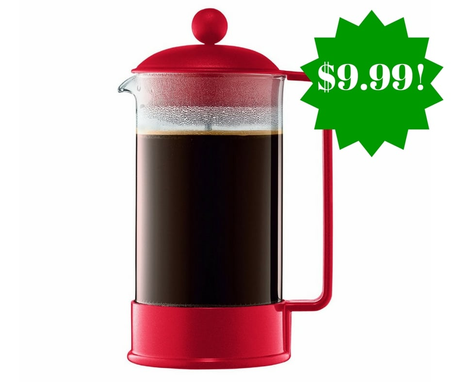 Amazon: Bodum Brazil French Press Coffeemaker Only $9.99 (Reg. $22)