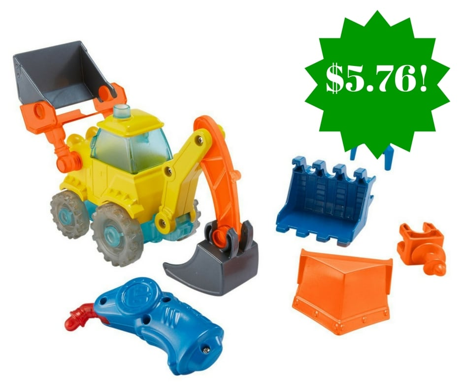 Amazon: Fisher-Price Bob the Builder Build-It Scoop Only $5.76 (Reg. $20)