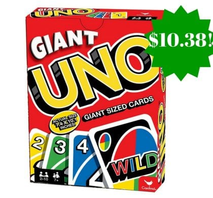 Amazon: Giant Uno Giant Game Only $10.38