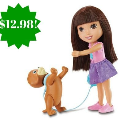 Amazon: Dora and Friends Train and Play Dora and Perrito Only $12.98 (Reg. $30)