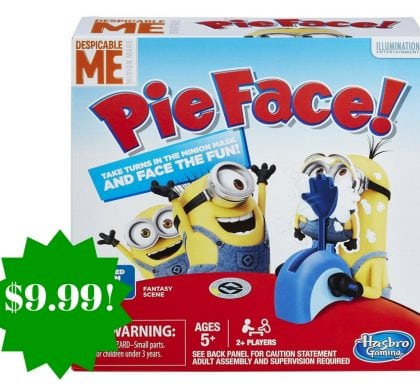 Amazon: Pie Face Game Despicable Me Minion Made Edition Only $9.99 (Reg. $25, Today Only)