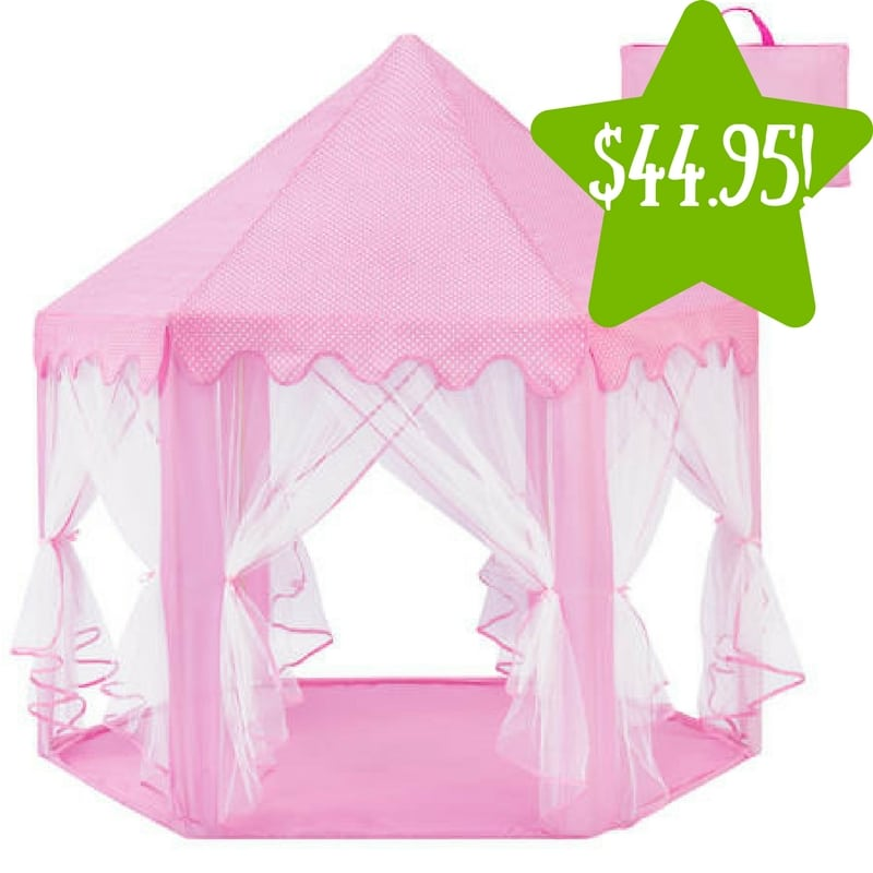 Kmart Indoor/Outdoor Pop-Up Princess Castle Play Tent Only $44.95 (Reg  sc 1 st  Coupons For Your Family & Kmart: Indoor/Outdoor Pop-Up Princess Castle Play Tent Only $44.95 ...