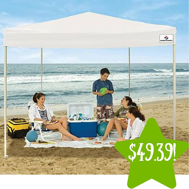 Kmart: Sportcraft 10'x10′ Straight Leg Instant Canopy Only $49.39 After Points (Reg. $130)
