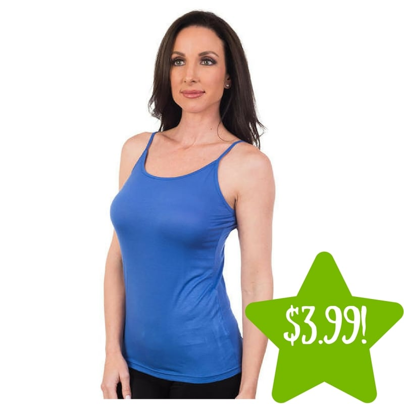 Kmart: Women's Agiato Basic Camisole Only $3.99 (Reg. $25)