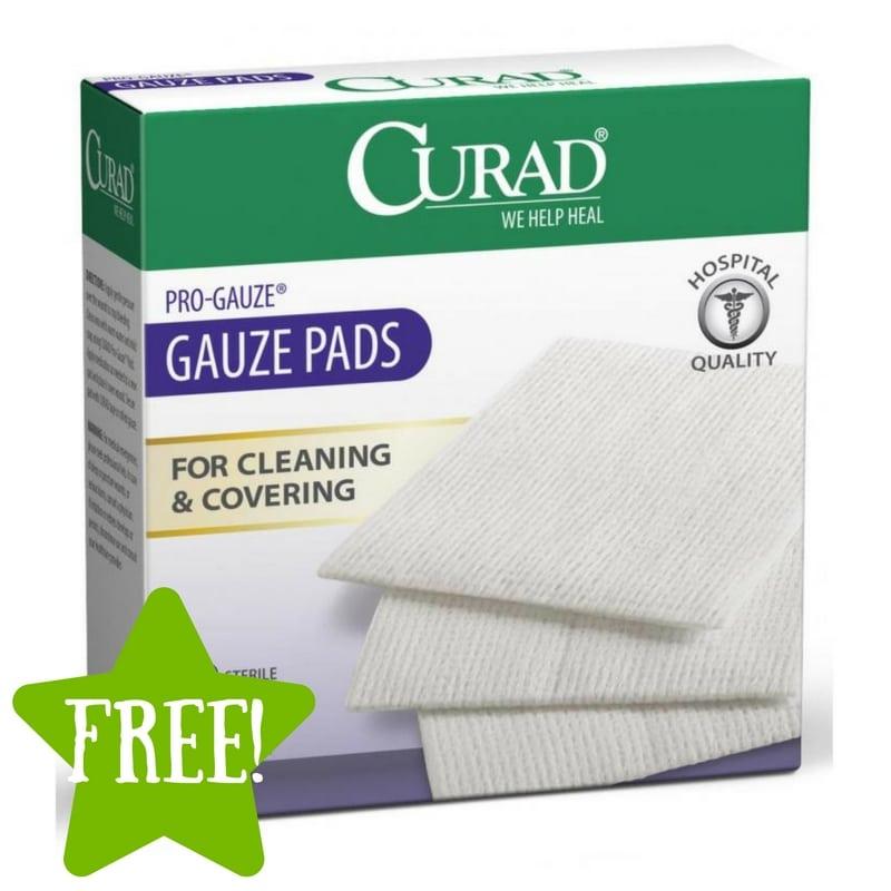 Dollar Tree: FREE Curad Guaze Pads
