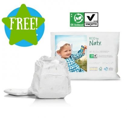FREE Certified ECO Nappy Samples
