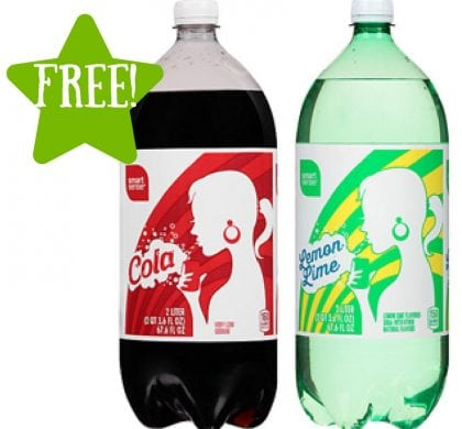 Kmart: FREE Smart Sense Cola or Lemon-lime 2L Soda (6/23-6/25) LOAD TODAY