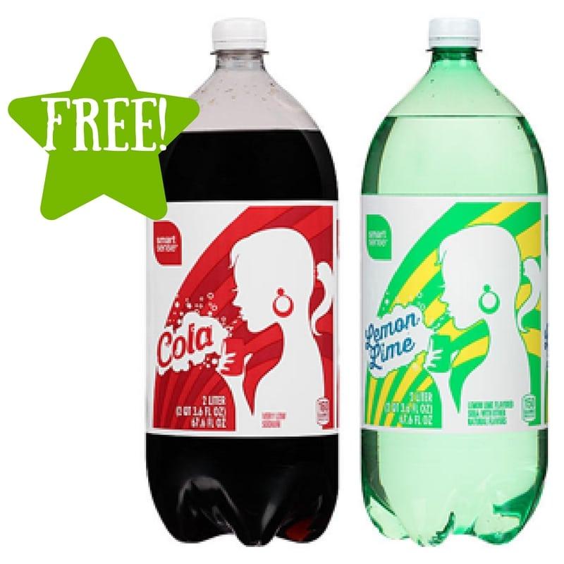 Kmart: FREE Smart Sense Cola or Lemon-lime 2L Soda (6/23-6/25) LOAD TODAY
