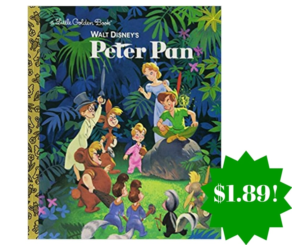 Amazon: Walt Disney's Peter Pan Little Golden Book Only $1.89 (Reg. $5)