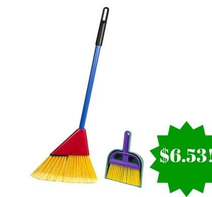 Amazon: Schylling Little Helper Broom Set Only $6.53