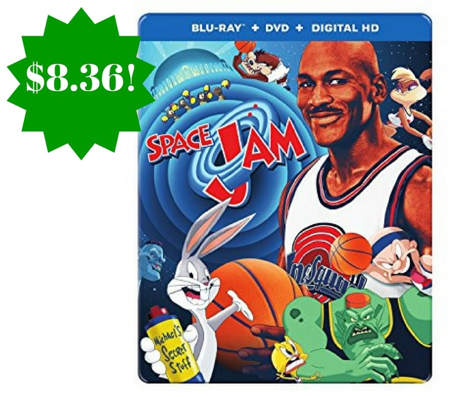 Amazon: Space Jam 20th Anniversary Steelbook Only $8.39 (Reg. $20)
