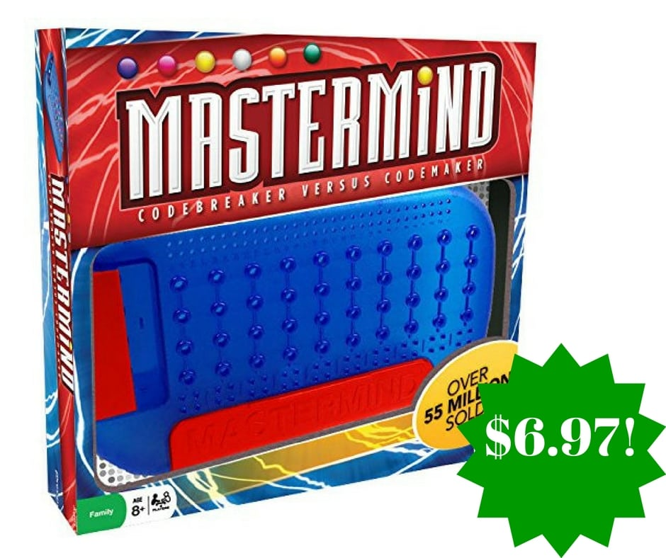 Amazon: Mastermind Game Only $6.97 (Reg. $17)