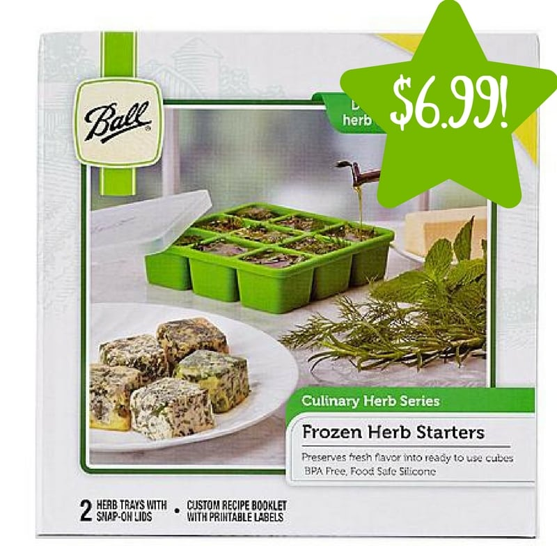 Kmart: Ball Frozen Herb Starter Only $6.99 (Reg. $15, Today Only)